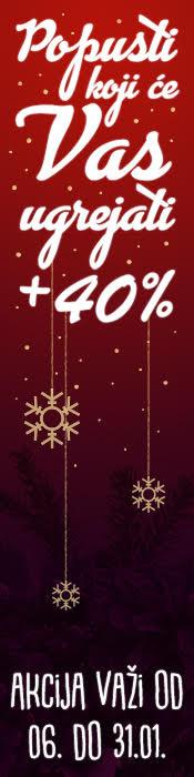 Popusti koji će Vas ugrejati +40%