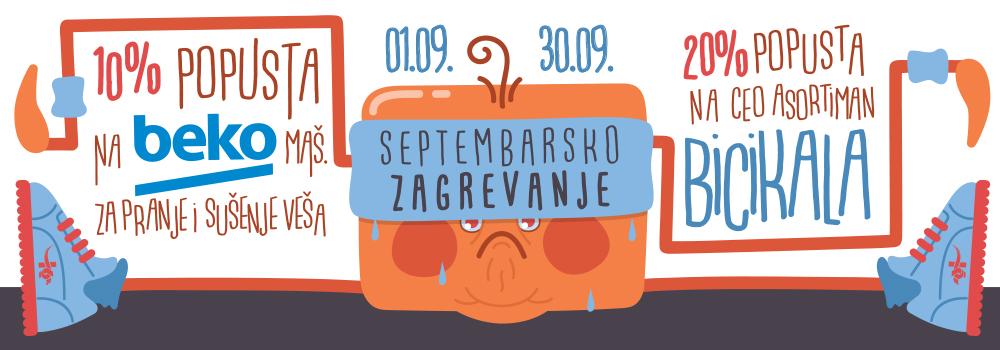 SEPTEMBARSKO ZAGREVANJE