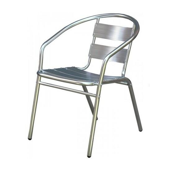 Baštenska aluminijumska stolica 20821