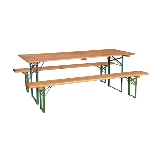 Baštenska garnitura Pivski sto