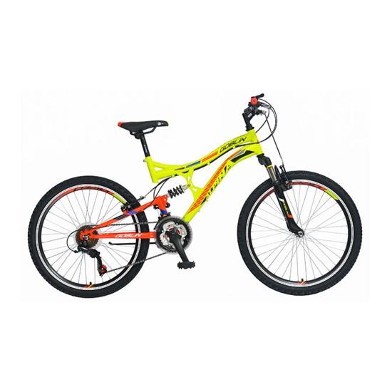 Bicikl Alpina Goblin Green-Red B241S15181, Želeno-Crvena