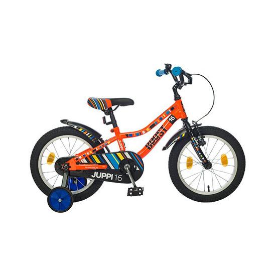 Bicikl Boost Juppi Boy 16 Orange B160S56180, Narandžasti, Za decu