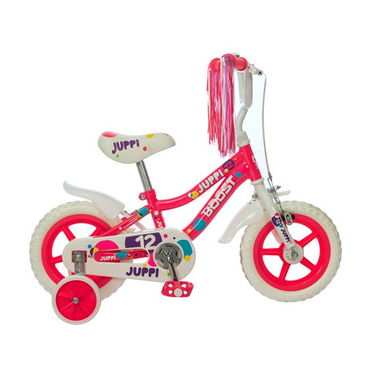 Bicikl Boost Juppi Girl 12 Pink B120S55182, Pink, Za decu