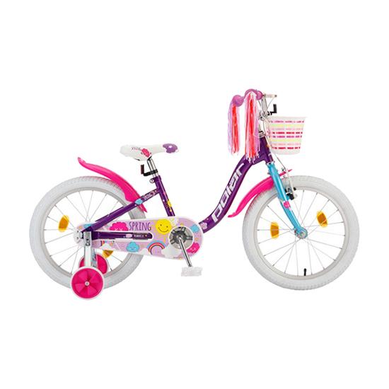 Bicikl Polar Junior 18 Spring B182S02204, Ljubičasta / pink / bela, Za decu