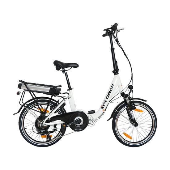 Električni bicikl Xplorer CITY VIBE 20 6920, Bela