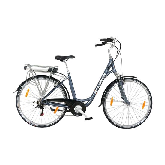 Električni bicikl Xplorer SILVER LINE LADY 26, Srebrna, Za odrasle
