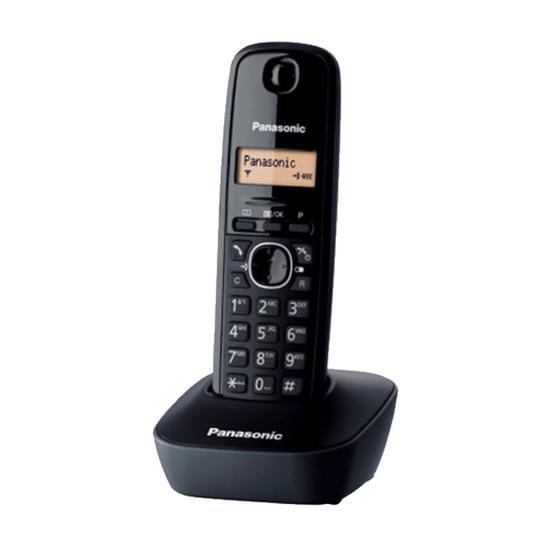 Fiksni telefon Panasonic KX-TG 1611 FX, Bežični, Crni