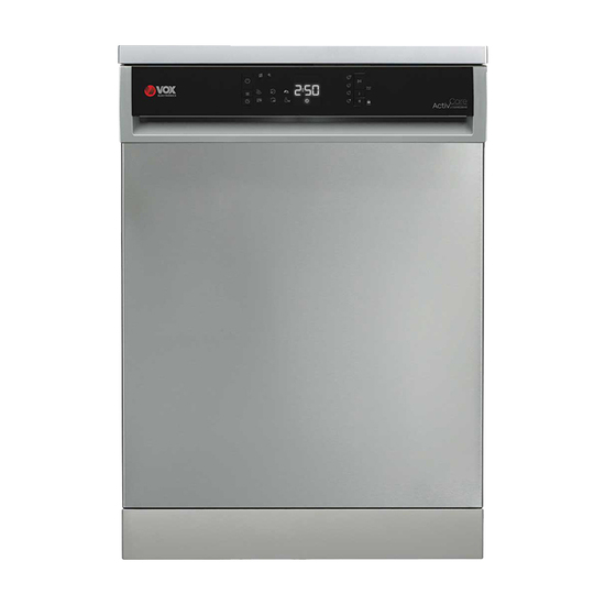 Mašina za pranje sudova Vox LC12A1EDBIXE, 12 kompleta, širine 60 cm
