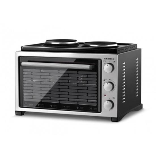 Mini šporet električni Kumtel KF-15360, Crni, Minielektrik + poklon Vatrostalna posuda / pekač Pyrex