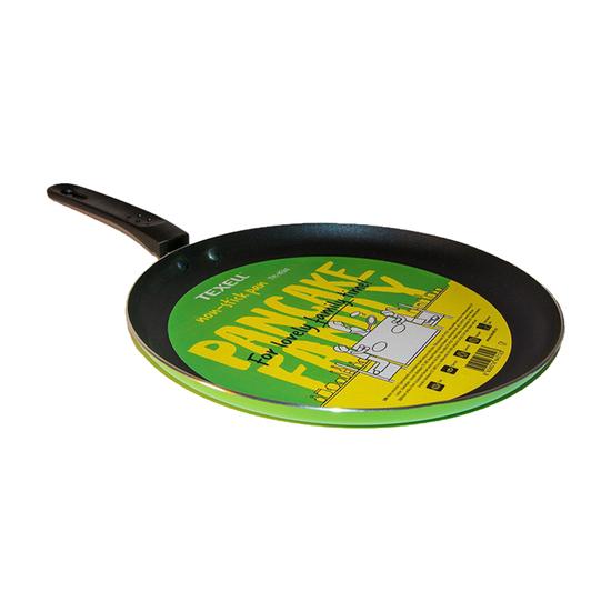 Tiganj za palačinke Texell TPC-PF207, 26 cm, Non Stick premaz, Zelena