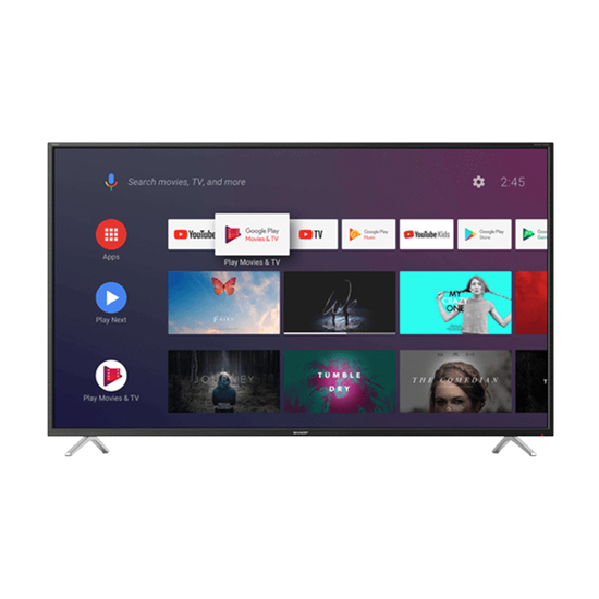 Televizor Sharp 50BL2EA, 50'' (127 cm), 3840 x 2160 4K Ultra HD, Android Smart