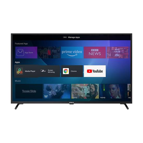 Televizor Vivax TV-55UHDS61T2S2SM, 55'' (140 cm), 3840 x 2160 Ultra HD 4K, Smart, Android
