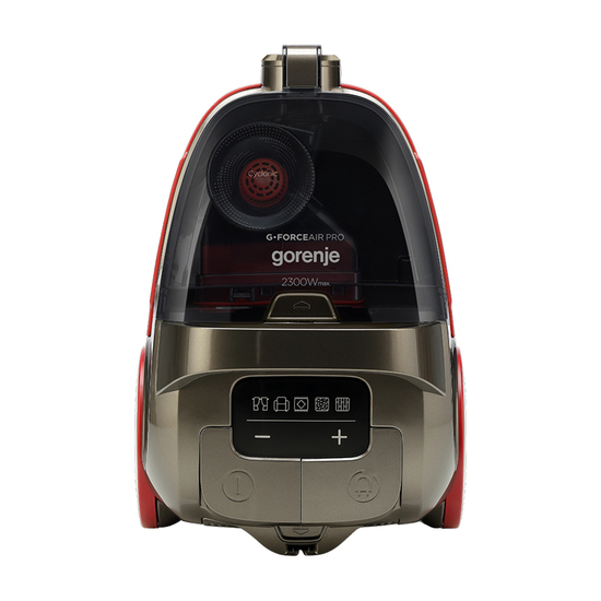 Usisivač Gorenje VC 2303 GAPRACY, 2300 W, Bronza / Crvena