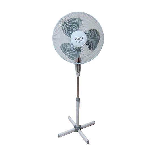 Ventilator Veko FS-1629, Beli, Podni